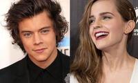 Harry Styles y Emma Watson estarían juntos según el imaginario de sus fans.