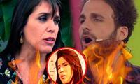 Pamela Vértiz tuvo a Yahaira en su programa desatando la ira de Peluchín