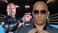 """""""La Roca"""" le declaró la guerra a Vin Diesel"""