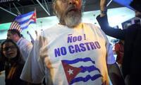 Cubamos exiliados en Miami celebran la muerte de Fidel Castro