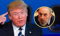 Donald Trump criticó con dureza a Fidel Castro