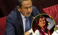 Ministro Gonzáles y su bella asesora