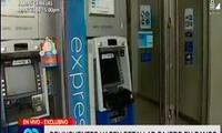 Delincuentes hacen estallar cajero en Banco en San Martín de Porres