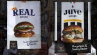 Burger del Real Madrid y Juventus se venden en Cardiff