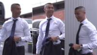 Un nuevo look presentó el portugués Cristiano Ronaldo