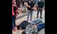 Detenidos tras persecusión policial