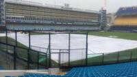 La cancha de la 'Bombonera' será cubierta por una lona si se desata la lluvia