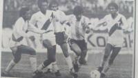 Maradona ante Perú en 1985