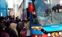 32 pasajeros asaltados en bus interprovincial