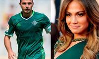 futbolista español imita a JLO y enloquece las rede sociales