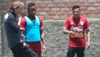 Para Hugo Sotil la pareja de atacante de Perú debe ser Ruidíaz y Farfán FOTO: LIBERO