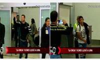 """El """"Oreja"""" Flores ganó más cámara de periodistas e hinchas que el español en terminal áreo"""