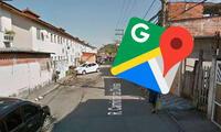 Hombre apunta con una pistola las cámaras del auto de Google