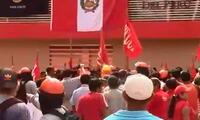 En disparos terminó marcha pacífica en Yurimaguas