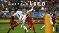 Zlatan marcó un gol de antología