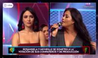 Michelle Soifer y Rosángela Espinoza fueron sometidas a votación