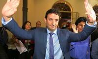 Renzo Reggiardo asegura estar primero en las encuestas.