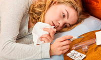 Se recomienda beber muchos líquidos calientes y descansar lo suficiente