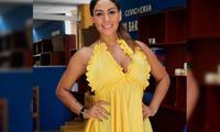 Leysi Suárez lo presentó frente a cámaras en la exclusiva boda de Xoana González