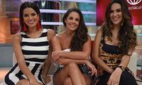 Conductoras Rebeca, Valeria y Silvia conversaron con el Popular y aseguran que se llevan muy bien.