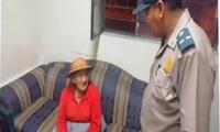 Anciana quechuablante fue salvada de las calles por policía