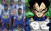 Equipo de Copa Perú juega con ropa sayayín en honor a Dragon Ball