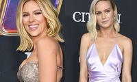 Scarlett Johansson y Brie Larson cautivaron a sus fans