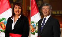 Breve ceremonia se realizó a las 5:00 p.m. en Palacio de Gobierno
