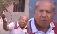 Anciano se rompe botella en la cabeza porque no le pagan su pensión
