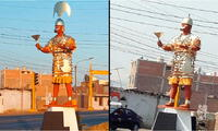 Ladrones se llevaron corona de la estatua del Señor de Sipán