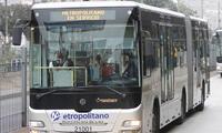 El servicio de transporte Metropolitano utilizó su cuenta de Twitter para anunciar desvió