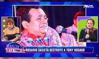 Rosario Sasieta exige prisión efectiva para Tony Rosado