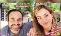 Sheyla Rojas y Ben Talei