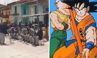 Tocan canciones de Dragon Ball y se vuelve viral de Facebook