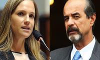 Luciana León en desacuerdo con Mauricio Mulder por vacancia presidencial