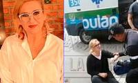 Katia Condos se pronunció luego de sufrir accidente automovilístico