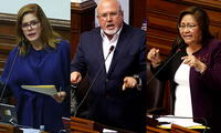 Mercedes Aráoz, Carlos Bruce y Ana María Choquehuanca renuncian a su bancada