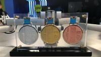 Las medallas de los Juegos Parapanamericanos