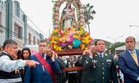 PNP y autoridades del Callao rindieron homenaje a Santa Rosa de Lima