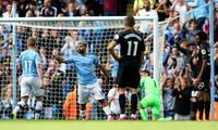 El City fue una máquina goleó al Brighton & Hove Albion con dos goles de Sergio  Agüero