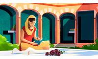 Google homenajeó a con un doodle a escritora punjabi reconocida