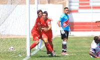 Alfredo Carrillo anotó el primer gol del Juan Aurich ante Grau. FOTO: Clinton Medina