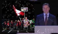 Juegos Parapanamericanos les entregó gratuitamente las entradas para que vieran diversas competencias