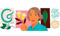 Google rinde homenaje con doodle a Ynés Mexía