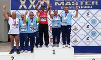 Luis Alberto Sánchez fue ganador en 10,000 y 5,000 metros en categoría 75 años