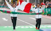 Tejeda y Pacheco ganadores de la Maratón en los Juegos Panamericanos Lima 2019