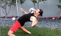 Zlatan reto en el Matrix challenge a Pogba y Djokovic