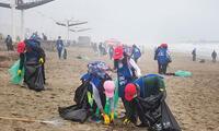 Más de 70 toneladas de plástico fue recogido de las playas