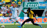 Argentina se fue de paseo con Ecuador en estadio Martínez Valero de Elche, España