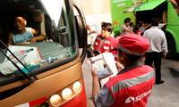 Personal de Sutran fiscaliza vehículos turísticos en feriado largo